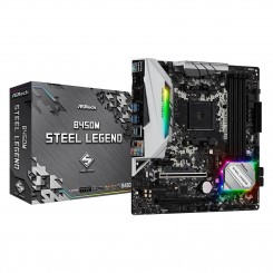 Carte Mère Asrock AM4 B450M Steel Legend uATX