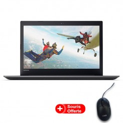 PC Portable Lenovo IP 330 - 15IKB - i3 7é Gén - 20Go - 1To - Noir Onyx