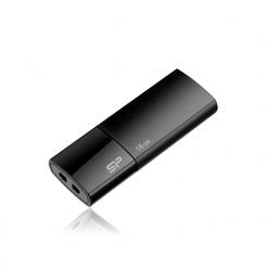 Clé USB SILICON POWER 16Go Ultima U05 USB 2.0 - Noir (SP016GBUF2U05V1D)