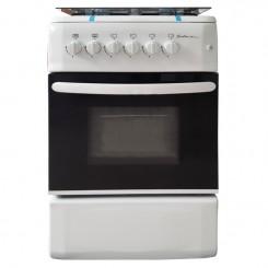 Cuisinière à Gaz SOTACER F5540G2-W 55cm - Blanc