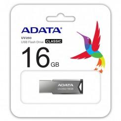 Flash Disque ADATA 16Go USB 2.0  UV250 - Silver