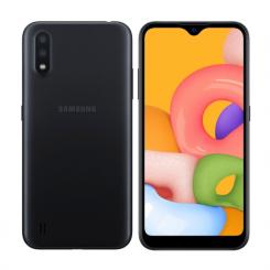 "Smartphone Samsung Galaxy A01 - 16 Go - 5.72"" - Double SIM - Noir"