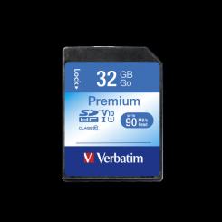 CARTE MEMOIRE SDHC VERBATIM 32GB CLASS-10