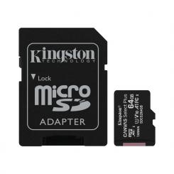 CARTE MEMOIRE Kingston Select Plus 64GB SD CLASS-10