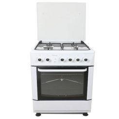 Cuisinière à gaz PROCOOK TG6640BL 60 cm Blanc