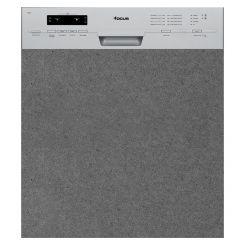 Lave Vaisselle FOCUS F502X Semi Encastrable - Silver