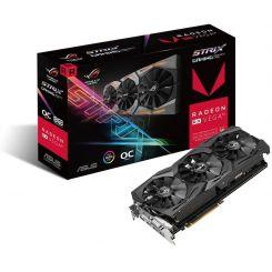 Carte Graphique Asus ROG Strix AMD Radeon RX VEGA 64 O8G Gaming