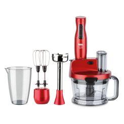 Mixeur Multifonction Fakir Mr Chef Quadro 1000W - Rouge