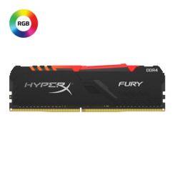 BARETTE MEMOIRE HYPERX 8Go DDR4-3200 2KIT FURY RGB
