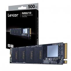 DISQUE DUR INTERNE LEXAR M.2 NVME 500GB