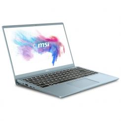 PC Portable MSI Modern B10RBSW - i7 10è Gén 16Go - 512Go SSD - bluestone