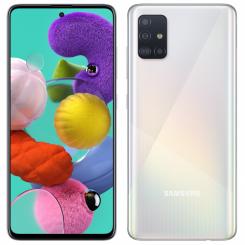 """Smartphone Samsung Galaxy A51 - 128Go - 6.5"""" - Double SIM Blanc ( SM-A515F/DSN)"""