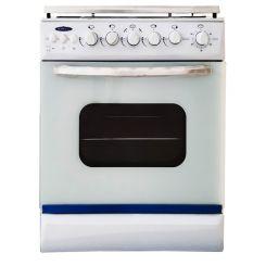 Cuisinière à Gaz SOTACER 5604CFO-B 60cm - Blanc