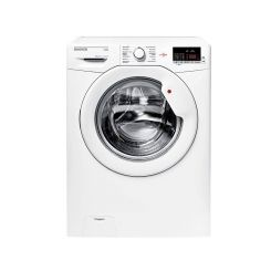 Machine à laver Smart Frontale HOOVER 9Kg HL1492D3 Blanc  + Aspirateur fakir