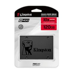 DISQUE DUR INTERNE SSD Kingston A400 - 120 Go -2.5''