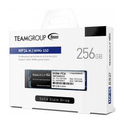 DISQUE DUR INTERNE SSD 2280 TeamGroup MP34 / 256 Go/ 2280