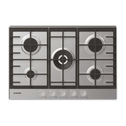 Plaque de cuisson Hoover 5 Feux - Acier inoxydable (HHG75WMX)