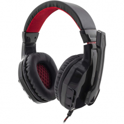 Micro casque Gamer WHITE SHARK GHS-1641 PANTHER Noir