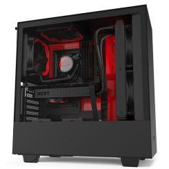 Boitier NZXT H510I RED/BLACK MIDI ATX