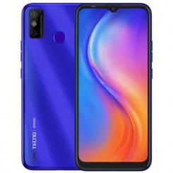 Téléphone Portable Tecno Spark 6 Go  4G Double SIM - Bleu Aqua