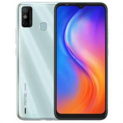 Téléphone Portable Tecno Spark 6 Go  4G Double SIM - Ice Jadeite