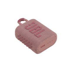 Enceinte Bluetooth JBL Go 3 – Pink