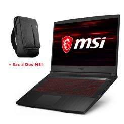 PC Portable Gamer MSI GF65 Thin10SER1224XFR - i7 10é gén - 16Go - 512SSD - RTX 2060-6GB