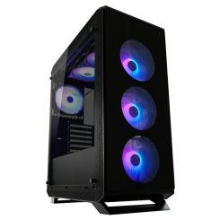 BOITIER MIDI LC-POWER 801B SERA X RGB