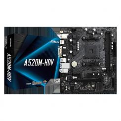 CARTE MERE ASROCK AMD AM4 A520M-HDV
