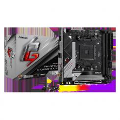 CARTE MERE ASROCK AMD AM4 B550 PHANTOM GAMING-micro ATX