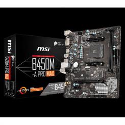 CARTE MERE MSI AMD AM4 B450M-A PRO MAX M-ATX