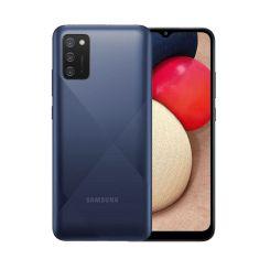 "Smartphone Samsung Galaxy A02 - 32 Go - 6.5"" - Double SIM - Bleu"