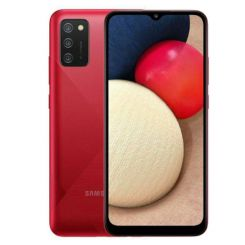 """Smartphone Samsung Galaxy A02S - 64 Go - 6.5"""" - Double SIM - Rouge"""