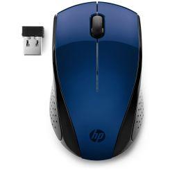 Souris HP sans Fil 220 - Bleu & noir (7KX11AA )