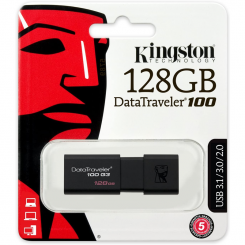 Clé USB Kingston Kingston 128Go DataTraveler 100 G3