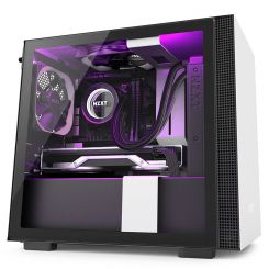 NZXT H210I WHITE/BLACK MINI-ITX