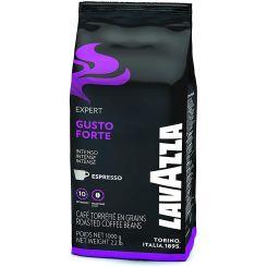 Paquet de 1 kg café en grains LAVAZZA Gusto Forte