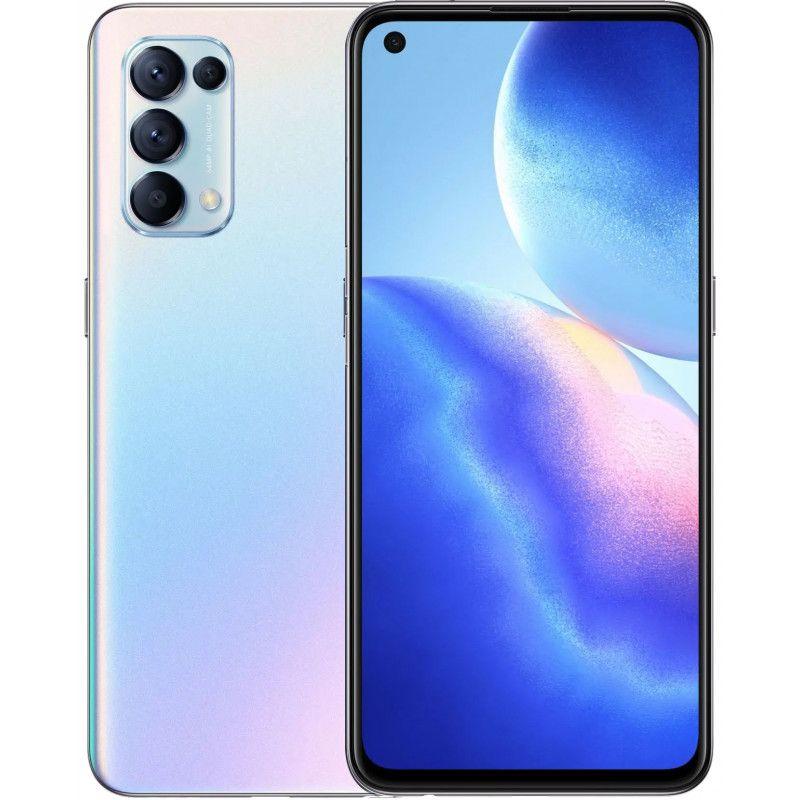Smartphone Oppo Reno 5 - 6.4''- 4G - Double SIM - Silver