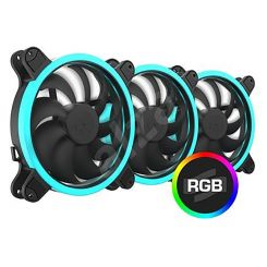 Ventilateur pour Processeur SilentiumPC Fan 14cm Corona HP RGB 140 3xPack