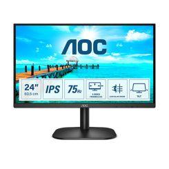 """Ecran Gaming AOC 24"""" 24B2XDA - 75Hz - IPS - 4 ms GTG"""