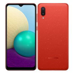 """Smartphone Samsung Galaxy A02 -3Go- 64 Go - 6.5"""" - Double SIM - Rouge ( SM-A022F/DS)"""