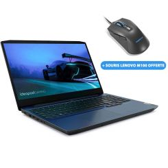 PC Portable Lenovo IdeaPad Gaming 3 - i7 10é Gén - 16Go - 1To+128Go SSD - Nvidia GTX1650 4Go (81Y400H4FG)