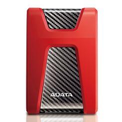 """Disque dur externe Adata 2To USB 3.0 2.5"""" HD650 - Antichoc - Rouge"""