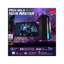 PACK GOLD NOVA MASTER -  i5 10é Gèn - 8Go -  480Go SSD - evga gtx1660super