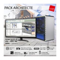 PACK ARCHITECTE-  i7 10é Gèn - 16Go -  480Go SSD + 1To HDD - evga gtx1660super