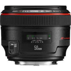 Objectif Canon EF 50mm f/1.2 L USM (1257B005)