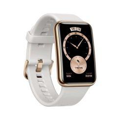 Montre Connectée HUAWEI Watch Fit Élégant - Blanc