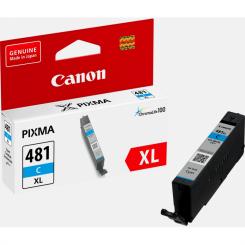 Cartouche d'encre Cyan Canon CLI481-C