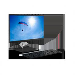 """PC de Bureau Lenovo V30a-22IML AIO  - i3 10é Gèn - 4Go - 1 To - 21,5"""" -11FV000JFM"""