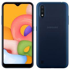 "Smartphone Samsung Galaxy A01 Core - 16 Go - 5.72"" - Double SIM - Bleu"